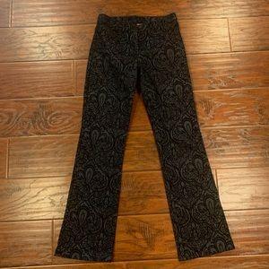 LAUNDRYBy Sheli SEGAL Paisley Print Trouser Pants